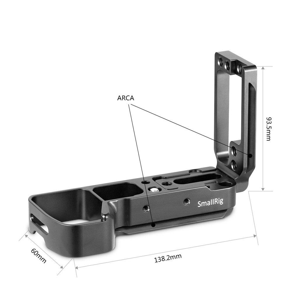 Petite Plate-forme A7m3 a7iii L pour Sony A7III A7MIII A7RIII A9 L-plaque de fixation trépied plaque latérale à dégagement rapide + plaque de base-2122 - 3