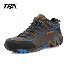 TBA 2017 Male Hiking Shoes  Outdoor Sneakers Sports Shoes Non-slip Camping Men's Boots Mountain Profession hiking shoes for Men