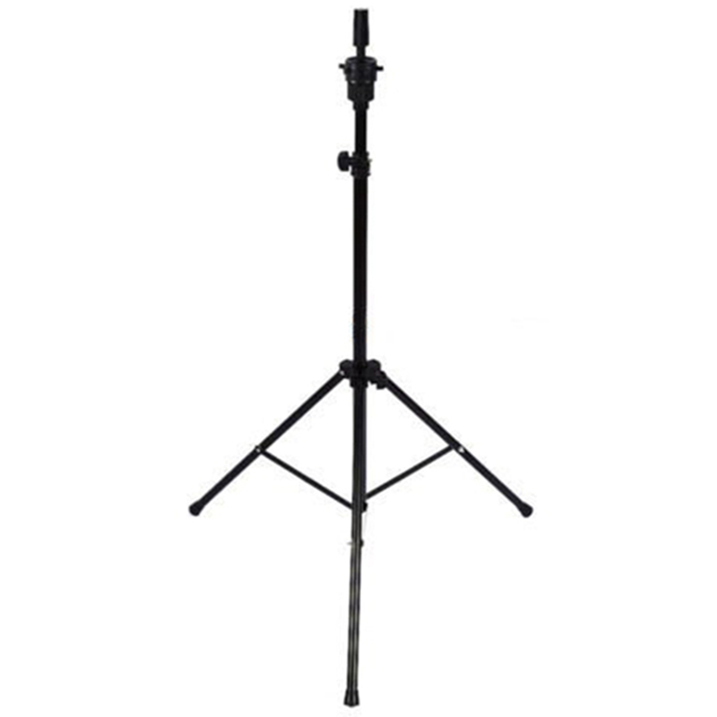 Adjustable Tripod Stand Holder Mannequin Head Tripod Hairdressing Training Head Holder Hair Wig Stand Tool(China)