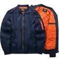Bomber Jacket Men's Fashion Thick Warm Autumn Winter Military Motorcycle Men Jackets Flight Ma-1 Pilot Air Force Brand coat