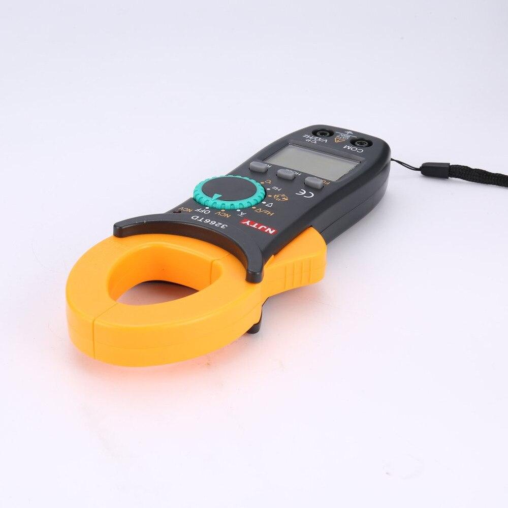 Digitale Clamp Meter 3266TD DC/AC Volt Amp Ohm Diode Mini Multimeter Amperemeter Multitester Strom Spannung Widerstand Tester NCV