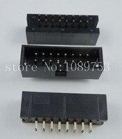 100pcs IDC Box Header DC3 DC3 16P 2x8 16 Pins 16P 2 54mm Pitch