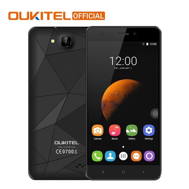 "Oukitel C3 5.0"" HD Screen Cellphone Android 6.0 MTK6580 Quad Core Smartphone 1G RAM 8G ROM Diamond Design 3G WCDMA Mobile Phone"