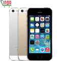 Оригинал Factory Unlocked iPhone 5s 16 GB/32 ГБ/64 ГБ ROM 8MP Камера 1136x640 пикселей WI-FI GPS Bluetooth Сотовый телефон multi language