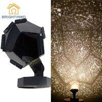 BRIGHTINWD Romantic Planetarium Star Celestial Projector Cosmos Light Night Sky Lamp