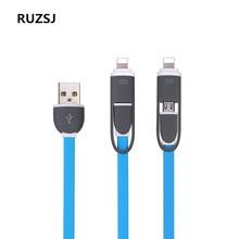 Ruzsj кабель micro usb быстрая зарядка линия для android мобильный телефон синхронизации данных кабель зарядного устройства для samsung htc lg sony