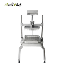 Купить с кэшбэком ITOP Vegetable Fruit Cutter Slicer Vertical Stainless Steel Cutting Machine Commercial Kitchen Tools 2.6cm Blade Food Processors