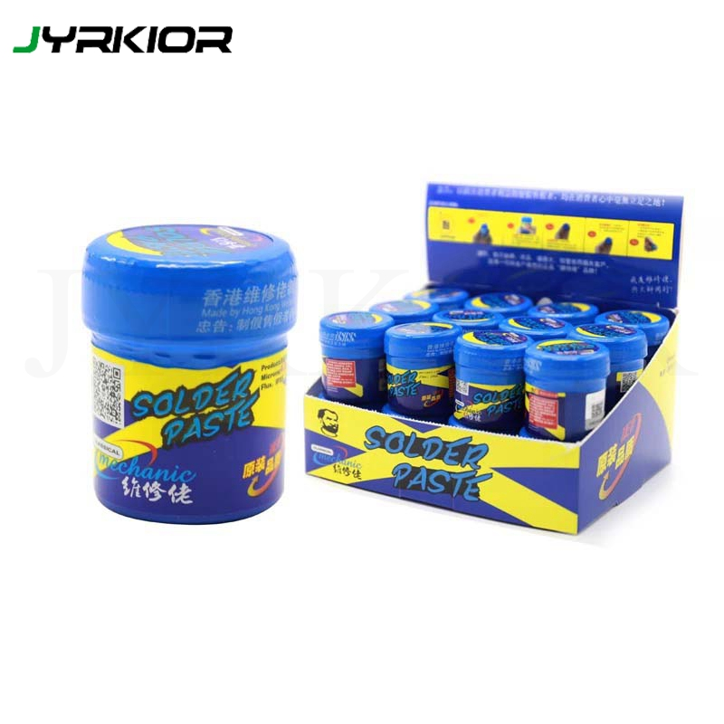 Jyrkior Soldering Welding Paste Flux Mechanic XGS40/XGS60 Solder Tin For iPhone A8 A9 A10 A11 Lead Low Temperature Welding Paste Сварка