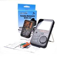 Cherub Protable Drum Universal Electronic Metronome Metro-Tuner Rhythm Device WSM-240 Musical Instruments Accessories