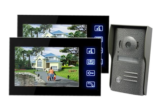 Freeship 7 Inch Video Door Phone Door bell Intercom Video Intercom Doorphone IR Night Vision Camera Monitor Kit For Home