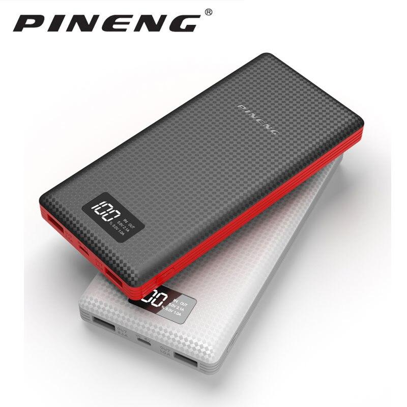 PINENG PN-969/PN-999/PN989 20000 mAh... PN-963 10000 mAh power bank bateria externa carregador portátil para o telefone /Moscow