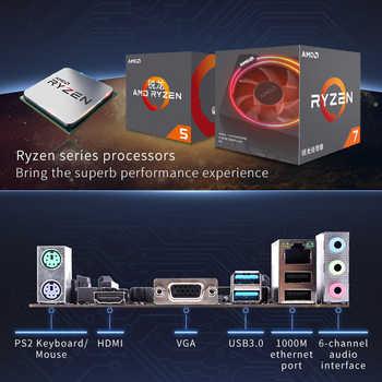 カラフルな A320M-K プロ YV14 iGame マザーボード AMD M-ATX Ryzen プロセッサゲーム A320 ためソケット AM4 DDR4 USB3.0 SATA3.0