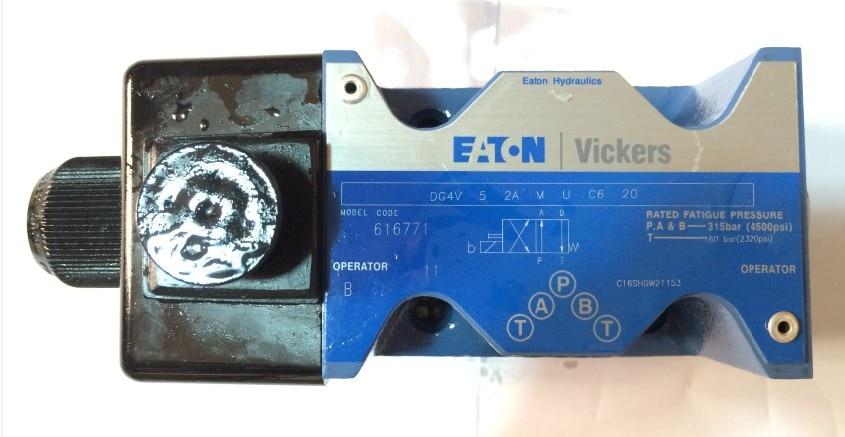 hydraulic valve DG4V-5-2A-M-U-C6-20 solenoid directional valve high quality hydraulic valve dg4v 3 3c m u h7 60