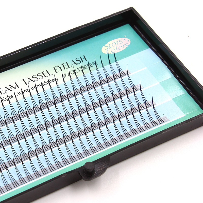 New Arrival W Style Magic 3D Individual Eyelashes Natural Soft M Lashes 0.15mm Imitate Mink Eyelash Extension