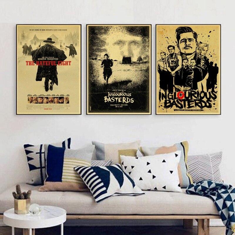 Inglourious Basterds / Django Unchained / Reservoir Dogs / Kill Bill Quentin Tarantino Poster Videos