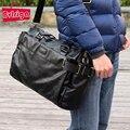 BVLRIGA Hombres bolsas de mensajero para hombre de tamaño grande de cuero bolsa de hombro famoso diseñador de marcas de alta calidad de los hombres bolsas de viaje de alta calidad