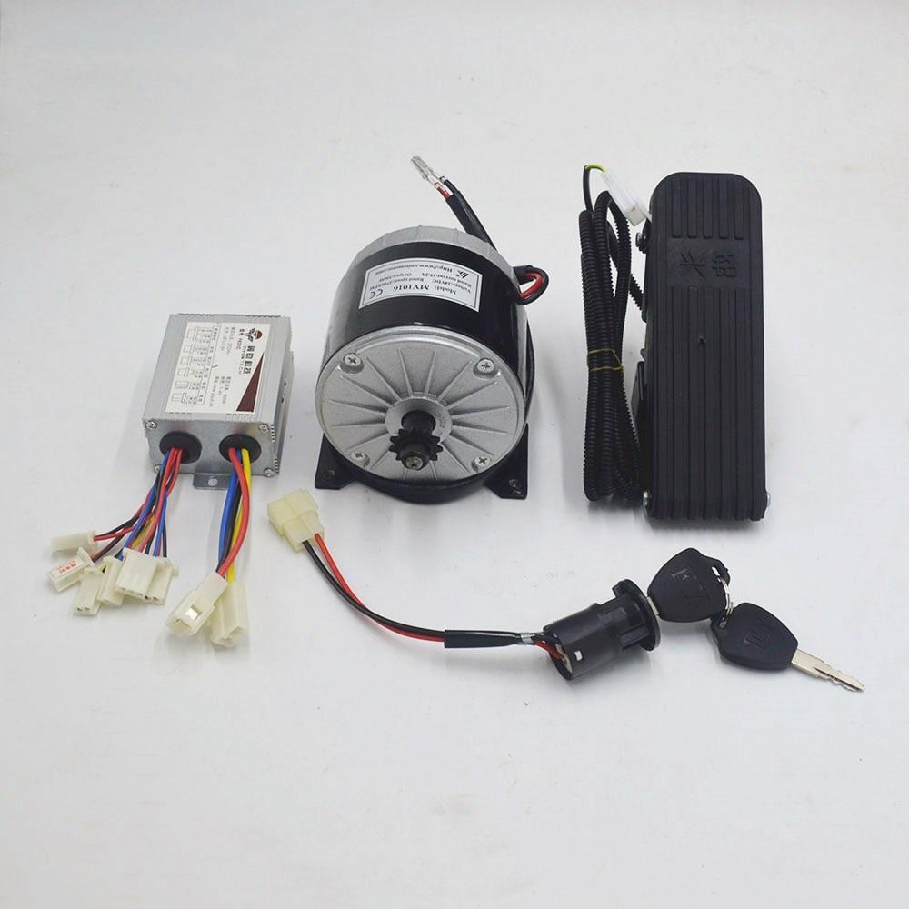 24V 350W elektrische motor elektrische fahrrad motor conversion Kit MY1016 MOTOR motor für elektrische fahrrad/roller/dreirad