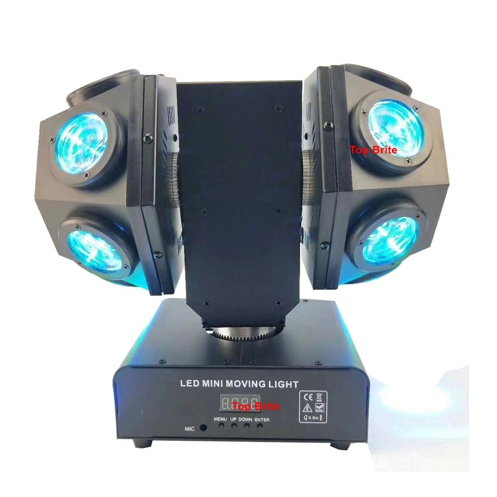 luzes do palco ktv mini led spot moving head 02
