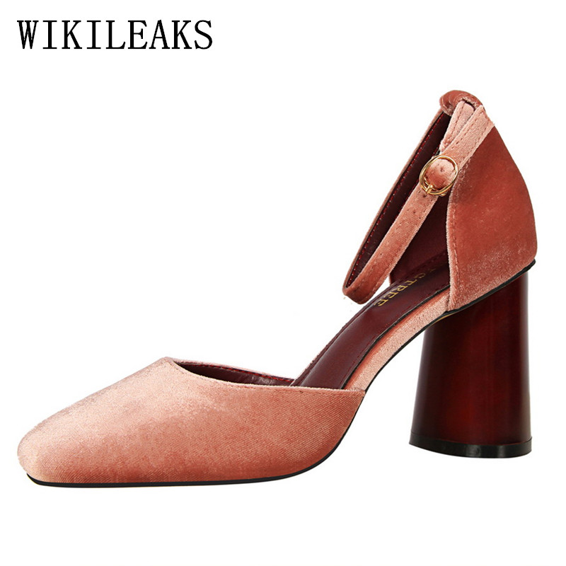 mary janes Square Toe sandals women sapatos mulher wedding shoes ankle strap heels high heels sandals woman pumps bigtree shoes 2017 crystal embellished ankle strap runway pump round toe butterfly knot heels shoes woman sexy mary janes shoes real photo