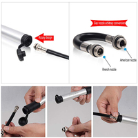 SAHOO MTB Cycling Tools Mini Crowbar Set Bike Repair Pump Tire With Rear Bag Kit