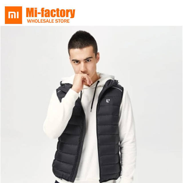 0with Down Hooden Casual Men Storage Coat In Technology From Reflective Vest Ultra Light Us70 Simple Soft Bags Jacket Winter Uleemark Xiaomi 6gy7bfY