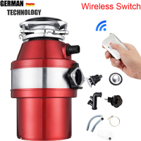 Full Parts,Air Switch,food garbage disposal, food waste disposers Stainless steel Grinder crusher kitchen appliances