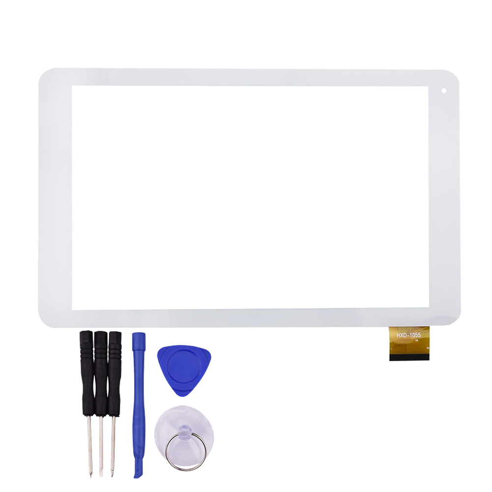 10.1 Inch White Touch Screen for Archos 101c Platinum Glass Panel Sensor Digitizer Replacement Free Shipping witblue new touch screen for 9 7 archos 97 carbon tablet touch panel digitizer glass sensor replacement free shipping