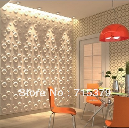 New Design Building Material 3D Wall Covering/Wall Panel Decor-In