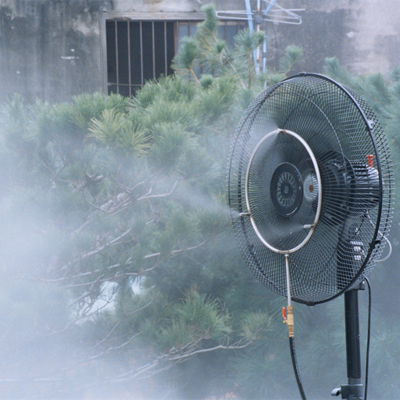 S068 Misting Fan Rings With 4pcs Nozzle