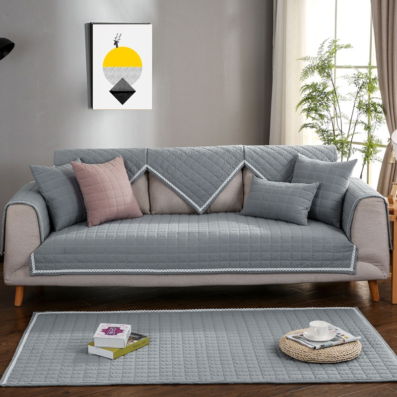 Cushion Colour Combinations: Washable Cotton Sofa Cushion Living Room Combination Sofa