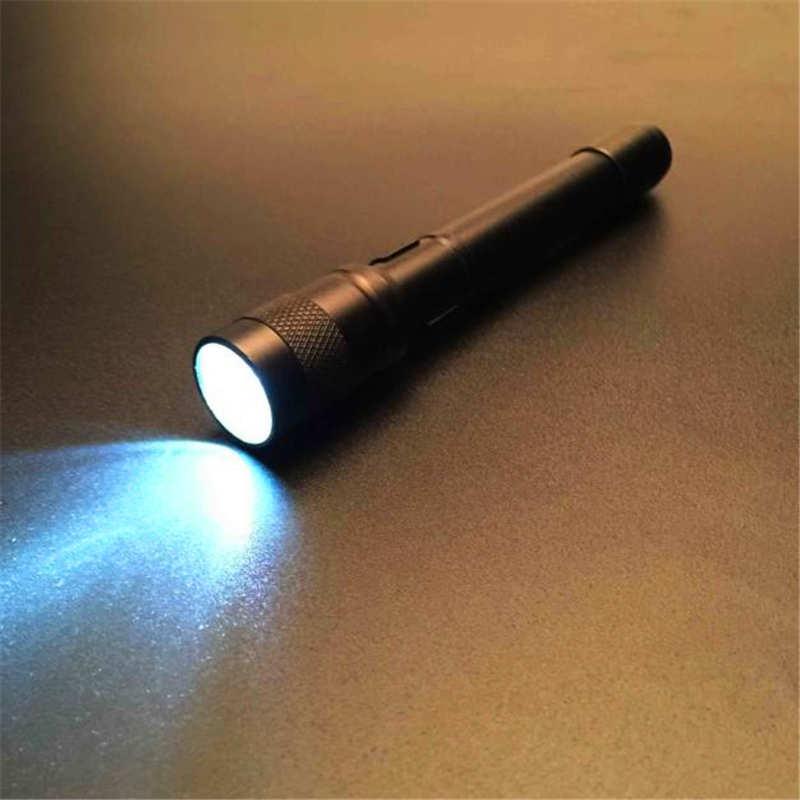 Chips XPE-R3 LED laser pointer Lamp Clip Mini Penlight Flashlight Torch nitecore AAA powerful led flashlight #4S12 (7)