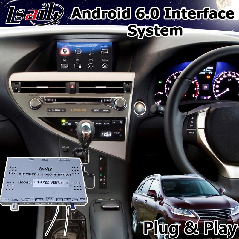 2013 Lexus Rx 350 For Sale: Android Interface Car Gps Navigation Box For Lexus RX 270