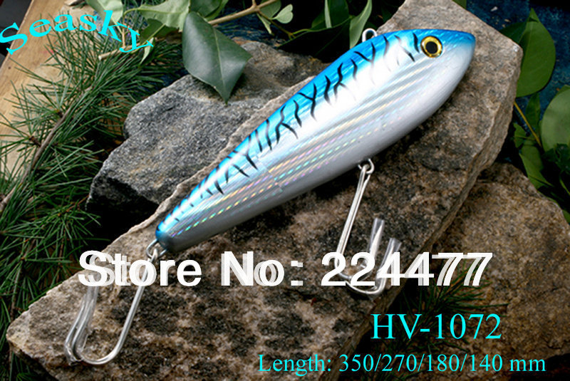 18cm Sinking Type <font><b>Big</b></font> <font><b>Fishing</b></font> <font><b>Lures</b></font> <font><b>Hard</b></font> Plastic <font><b>Baits</b></font> <font><b>Vibration</b></font> <font><b>Baits</b></font> Deep Sea <font><b>Bait</b></font> With China Hook