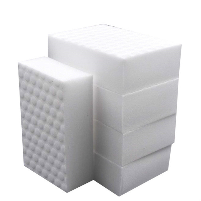30 Pcs High Density Double Compressed Kitchen Melamine Sponge Magic Eraser Pad For Dish  Cleaning Quality Supplier 10*6*2cm(China)