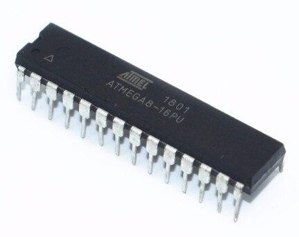 5PCS IC ATMEGA8 ATMEGA8-16PU  DIP-28 NEW