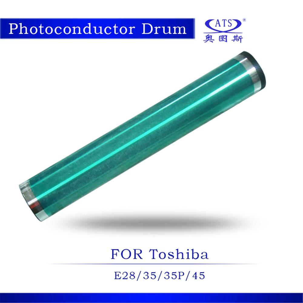 1pcs High Quality opc drum for Toshiba E 28 35 35P 45 copier parts E28 E35 E35P E45 Photocopy Machine japan steel men shaving straight razor classic titan barber razor black ebony wood handle manual shaver kit