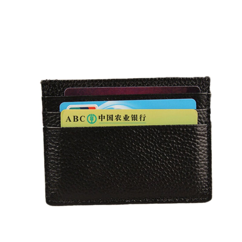 Ultra-thin Card Package Men And Women Wallet Male Multi-card Bit Coin Purse Bank Card Sleeve