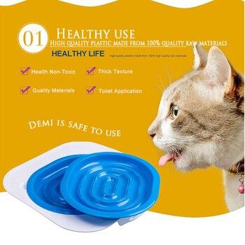 средства для чистки туалетов | Пластиковый кошачий Туалет, тренажер, кошачий Туалет, Тренировочный Набор, подстилка для щенка, подстилка для кошки, для туалета, для чистки ...