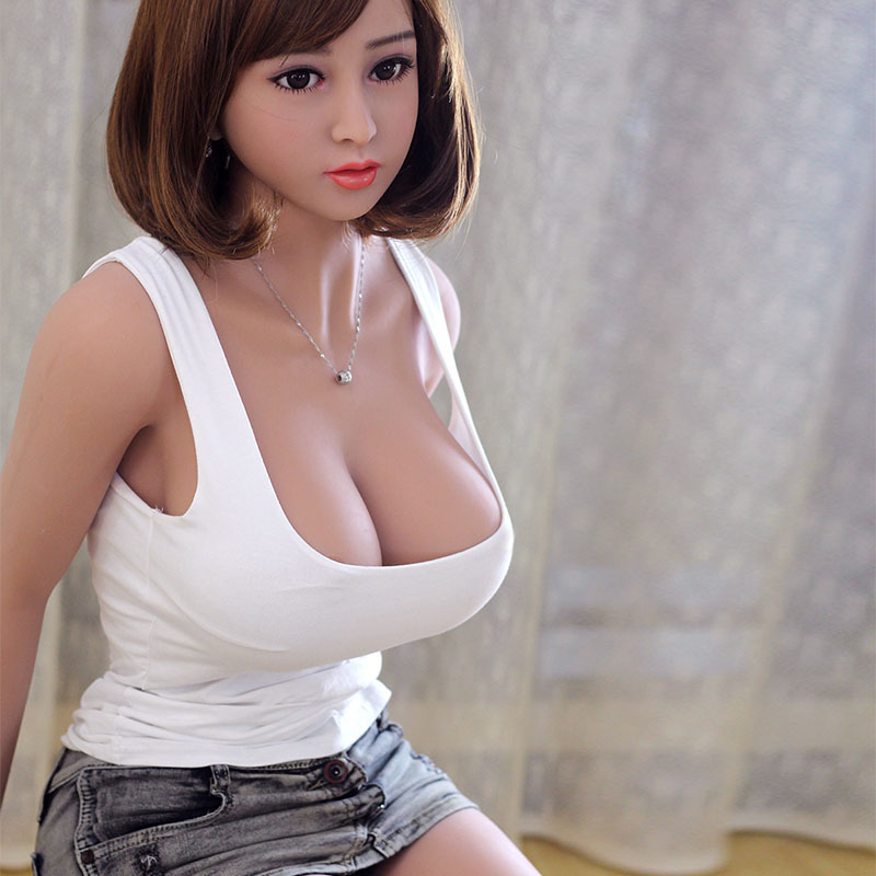 158cmgirl lifelike font b sex b font products for man big breast hip silicone sexy font