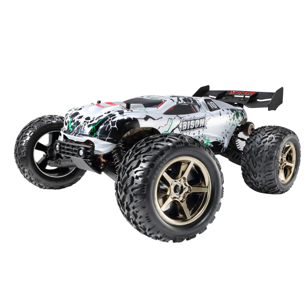 VKAR RACING Бизон V2 1:10 80-90 км/ч 2,4 ГГц 2CH 4WD Водонепроницаемый бесщеточный RC грузовик-РТР дистанционного управление игрушечных автомобилей для дет...