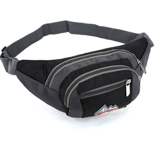 QIUYIN Travel For Mobile Phone Bag Unisex Nylon Waist Pack Men Women Fashion Multifunction Fanny Pack Bum Bags Hip Money Belt aireebay waist pack for men women fanny pack big bum bag hip money belt travel bags mobile large capacity 2019 male phone bag