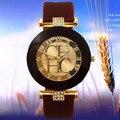 2016 Nova Marca de moda Silicone Assistir 6 cores Relógio de Quartzo Analógico Mulheres Vestido Relógios Pulseira de Relógio de Luxo relógio Feminino
