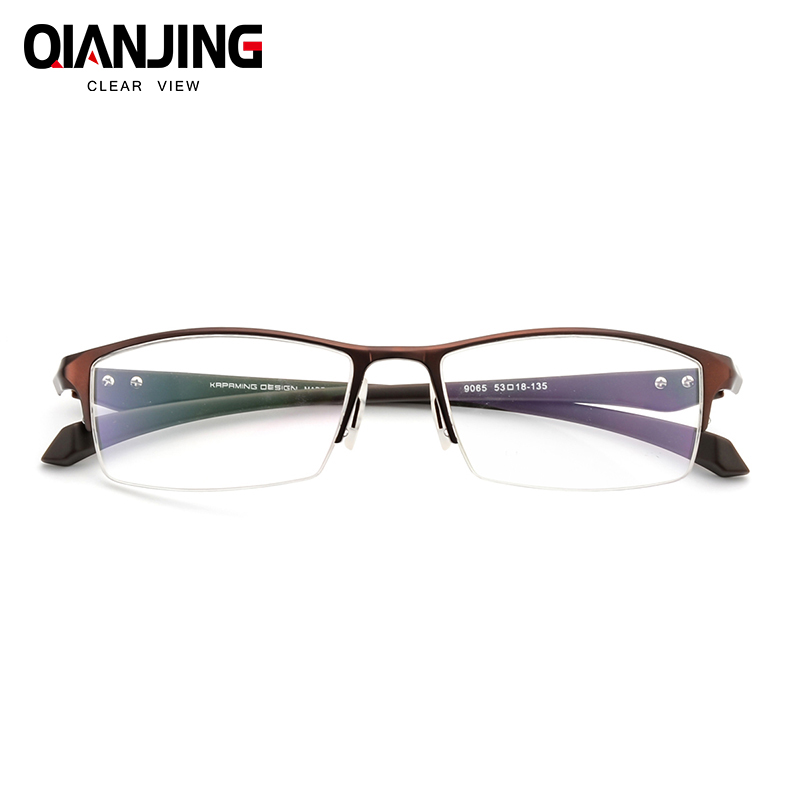 8d636c9e6 QIANJING Óculos Armação de Óculos Homens Miopia Óptico Computador Armação  de Prescrição Óculos de Armação Para