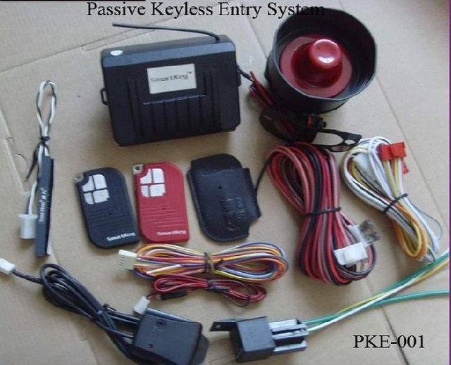 ( HOT SALE PKE001A ) Passive Keyless Entry  Car Security System