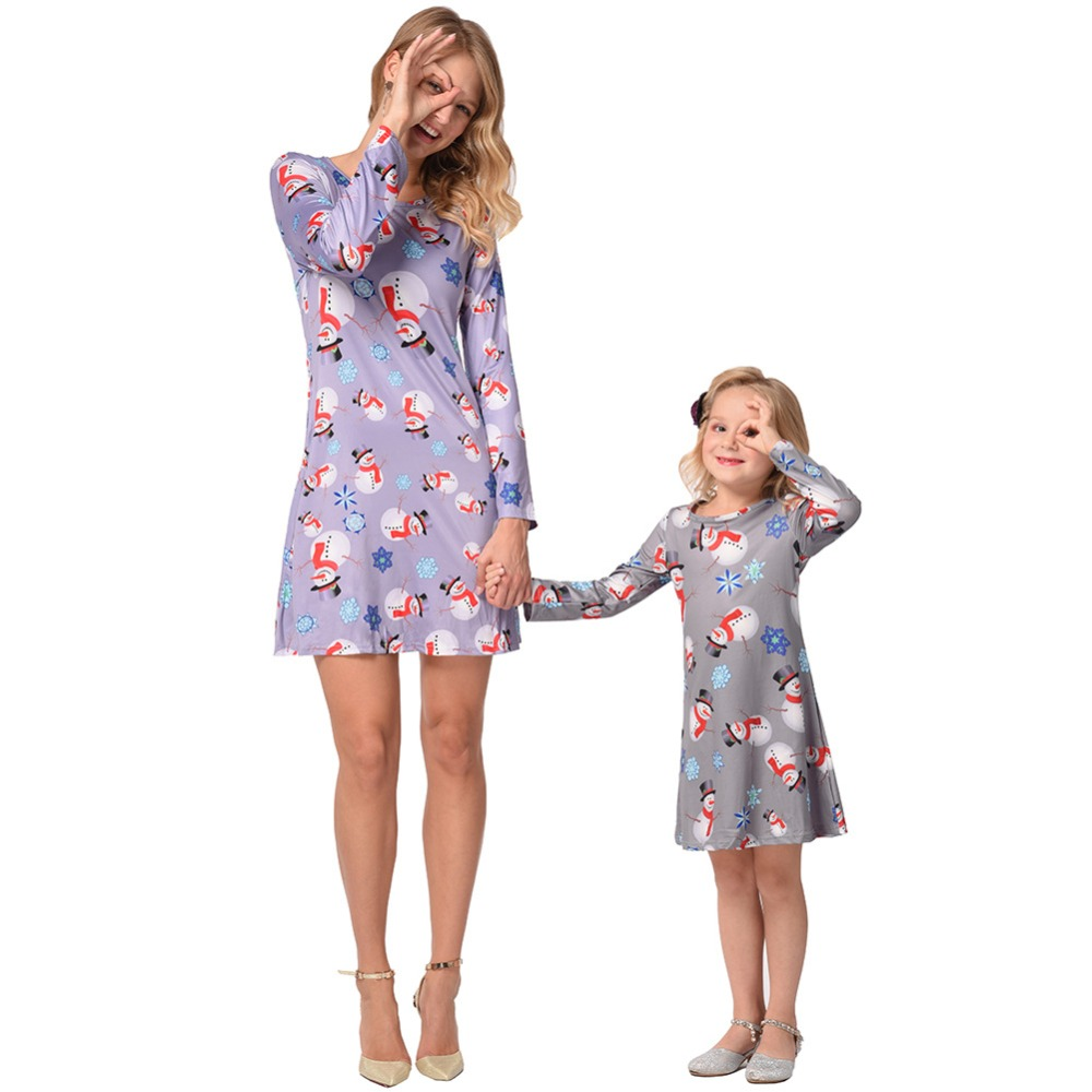 1c6dfafae471 mother daughter dresses family christmas pajamas mommy and me matching  outfits mama mom mum baby girl. sku: 32950710688