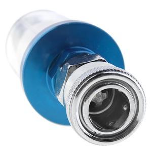 Image 5 - 1/4 Polegada pequeno separador de ar do óleo filtro de água com tipo de alimentação de pressão e conector rápido para pistola pneumática de pulverização