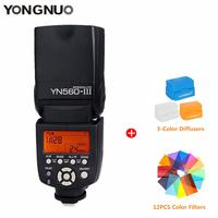 Yongnuo YN560 III wireless flash Speedlite Ultra long range Speedlight For Canon Nikon Olympus Panasonic Pentax DSLR Camera