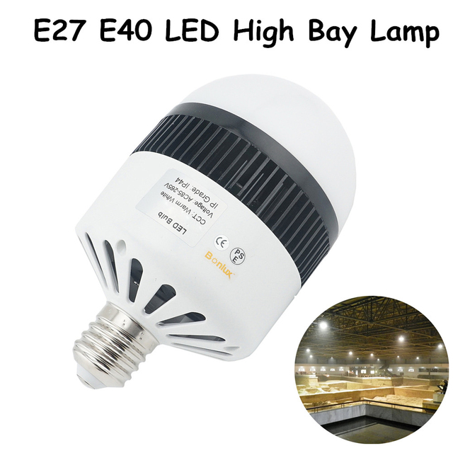 Led high bay light e27e40 80w industrial commercial street lamp led high bay light e27e40 80w industrial commercial street lamp replace 160w conventional cfl aloadofball Image collections
