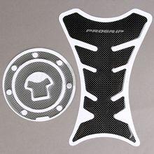 Carbon Fiber Motorcycle Fuel Tank Pad Decal Protector Fuel Gas Cap Sticker Cover for Honda CBR600RR CBR1000RR Motorbike Decorate