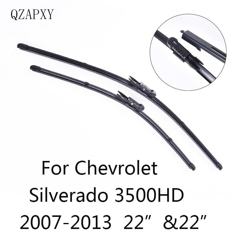 QZAPXY Car Wiper Blades for Chevrolet Silverado 3500HD 22
